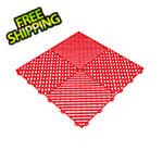 Swisstrax Racing Red Ribtrax Garage Floor Tile (9-Pack)