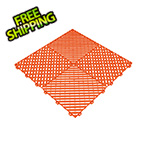 Swisstrax Tropical Orange Ribtrax Garage Floor Tile (9-Pack)