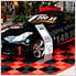 Tropical Orange Ribtrax Garage Floor Tile (9-Pack)