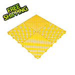 Swisstrax Citrus Yellow Ribtrax Garage Floor Tile (9-Pack)