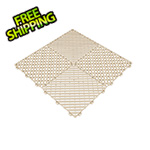 Swisstrax Ivory Ribtrax Garage Floor Tile (9-Pack)
