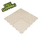 Swisstrax Ivory Ribtrax Garage Floor Tile (9-Pack)
