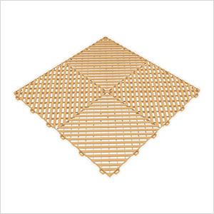 Mocha Java Ribtrax Garage Floor Tile (9-Pack)