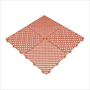 Terra Cotta Ribtrax Garage Floor Tile (9-Pack)