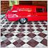 Chocolate Brown Ribtrax Garage Floor Tile (9-Pack)