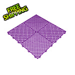 Swisstrax Cosmic Purple Ribtrax Garage Floor Tile (9-Pack)