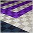 Cosmic Purple Ribtrax Garage Floor Tile (9-Pack)