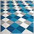 Island Blue Ribtrax Garage Floor Tile (9-Pack)