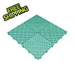 Swisstrax Teal Ribtrax Garage Floor Tile (9-Pack)