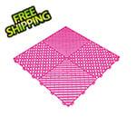Swisstrax Carnival Pink Ribtrax Garage Floor Tile (9-Pack)