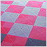 Carnival Pink Ribtrax Garage Floor Tile (9-Pack)