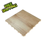 Swisstrax Light Maple Vinyltrax Garage Floor Tile (9-Pack)