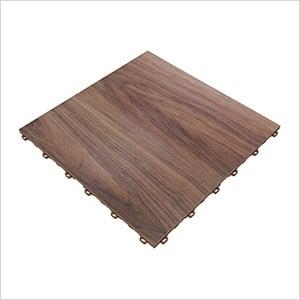 Medium Maple Vinyltrax Garage Floor Tile (9-Pack)