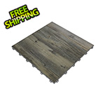 Swisstrax Reclaimed Pine Vinyltrax Garage Floor Tile (9-Pack)