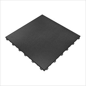 Carbon Fiber Vinyltrax Garage Floor Tile (9-Pack)