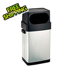 Seville Classics UltraHD Fingerprint Resistant Stainless Steel Trash Can