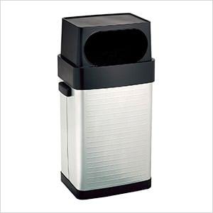 UltraHD Fingerprint Resistant Stainless Steel Trash Can