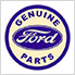Ford Genuine Parts Bar Stool with Backrest