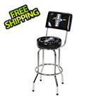Ford Ford Mustang Bar Stool with Backrest