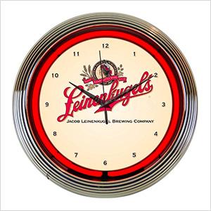 15-Inch Leinenkugel's Beer Neon Clock