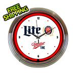 Neonetics 15-Inch Miller Lite Beer Neon Clock