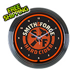 Neonetics 15-Inch Smith & Forge Hard Cider Neon Clock