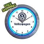 Neonetics 15-Inch Volkswagen Neon Clock