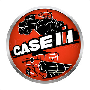 15-Inch Case IH Tractor Backlit LED Sign