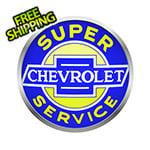 Neonetics 15-Inch Super Chevrolet Service Backlit LED Sign