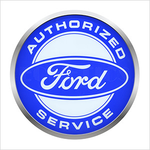 15-Inch Authorized Ford Service Backlit LED Sign