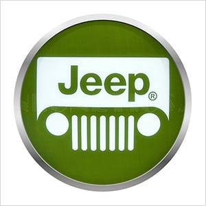 15-Inch Jeep Backlit LED Sign