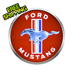 Neonetics 15-Inch Ford Mustang Backlit LED Sign