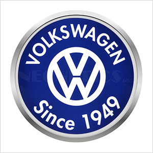 15-Inch Volkswagen Since 1949 Backlit LED Sign