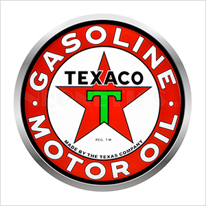 15-Inch Texaco Motor Oil Backlit LED Sign