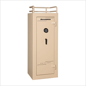 Defender 17 - 17 Gun Tactical Safe with Electronic Lock