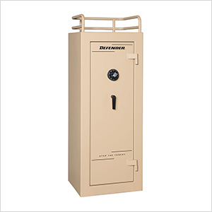 Defender 17 - 17 Gun Tactical Safe with Mechanical Lock