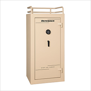 Defender 25 - 28 Gun Tactical Safe with Electronic Lock