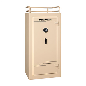 Defender 25 - 28 Gun Tactical Safe with Mechanical Lock
