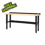 Waterloo 8-foot Butcher Block Workbench
