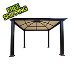 Paragon Outdoor 12 x 12 ft. Siena Hard-Top Dome Gazebo