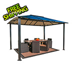 Paragon Outdoor 10 x 13 ft. Bermuda Hard-Top Gazebo