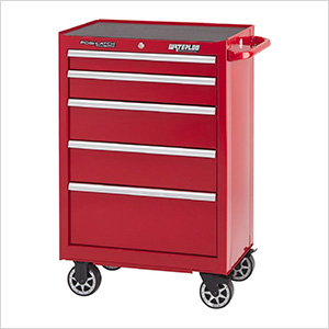 26-Inch 5-Drawer Tool Cabinet with Drawer Liners