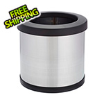 Shop-Vac Shop-Can 4 Gallon Stainless Steel Trash Can with Open Lid