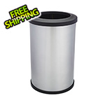 Shop-Vac Shop-Can 20 Gallon Stainless Steel Trash Can with Open Lid