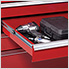 40-Inch Professional HD Series Red 5-Drawer Workstation