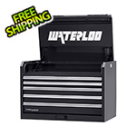 Waterloo 36-Inch Professional HD Series 5-Drawer Black Tool Chest