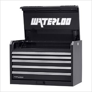 36-Inch Professional HD Series 5-Drawer Black Tool Chest