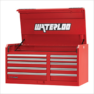 46-Inch Professional HD Series 10-Drawer Red Tool Chest