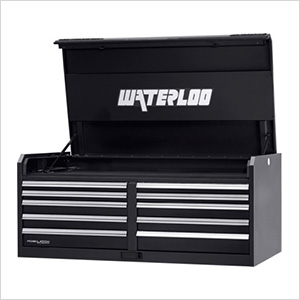 56-Inch Professional HD Series 10-Drawer Black Tool Chest