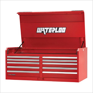 56-Inch Professional HD Series 10-Drawer Red Tool Chest